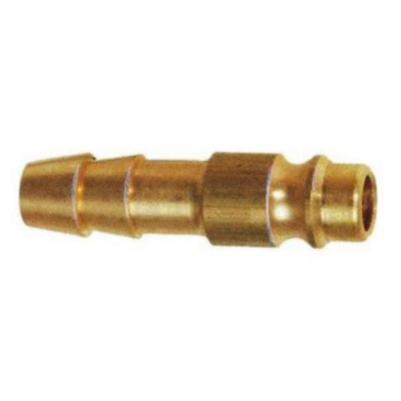 Stecktülle aus Messing für Schlauch-Innendurchmesser 8 mm