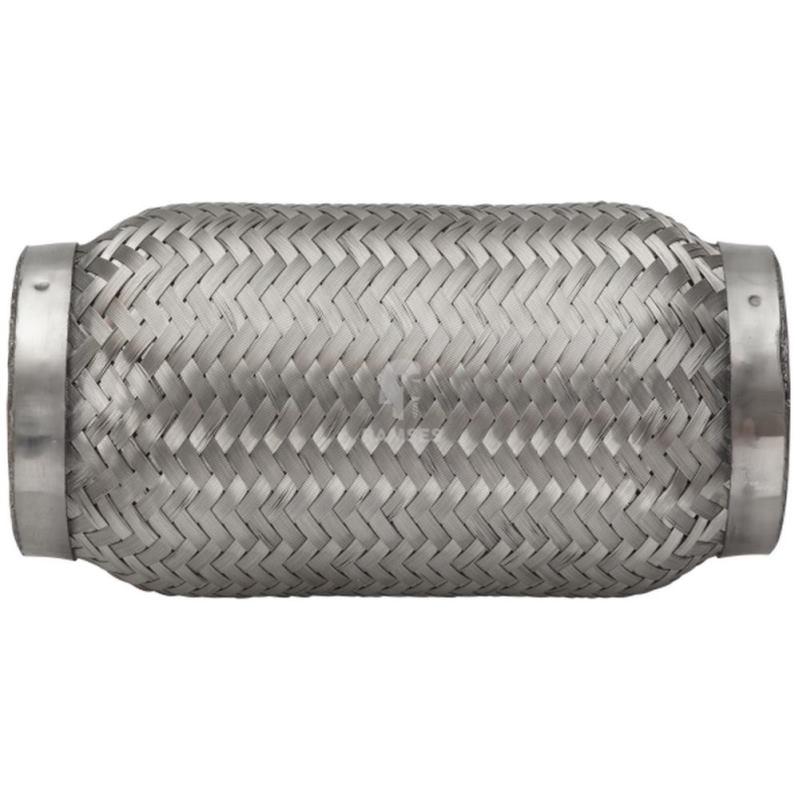 Flexrohr ohne Anschlussstutzen 76 x 150 mm Edelstahl A2 1 Stück