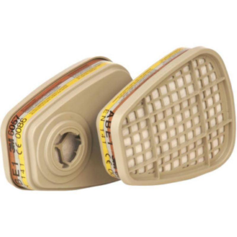 ™ Gas- und Kombifilter 6057 ABE1 Filter Pack à 8 Stück