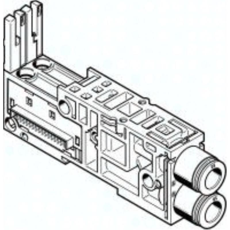 VMPAL-AP-20-QS10-2 560992 ANSCHLUSSPLATTE