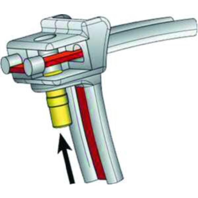 KR8/C5-W-BK-T1 Verschlussstück