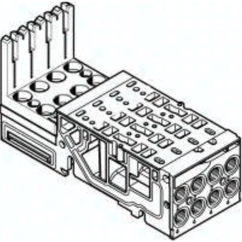 VMPA1-AP-4-1-EMS-8 546802 Anschlussplatte
