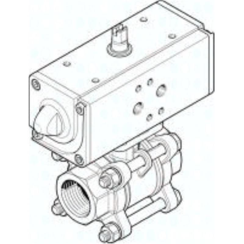 """VZBA-11/2""""-GG-63-T-22-F0507-V4 1809657 KUG.HAHN-ANTR.E"""