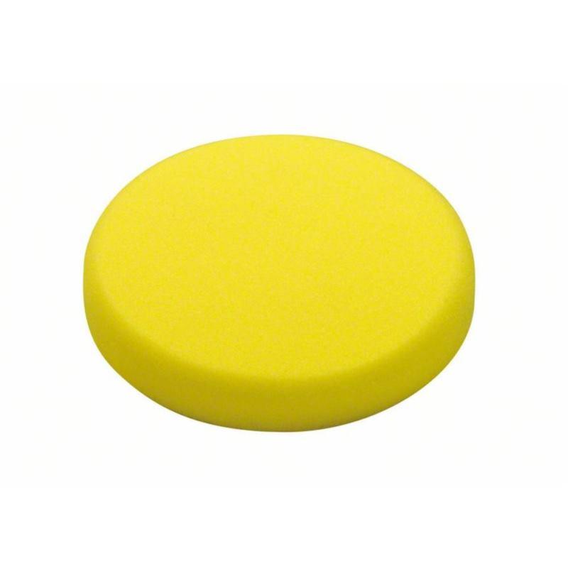 Schaumstoffscheibe hart (gelb). Durchmesser 170 mm