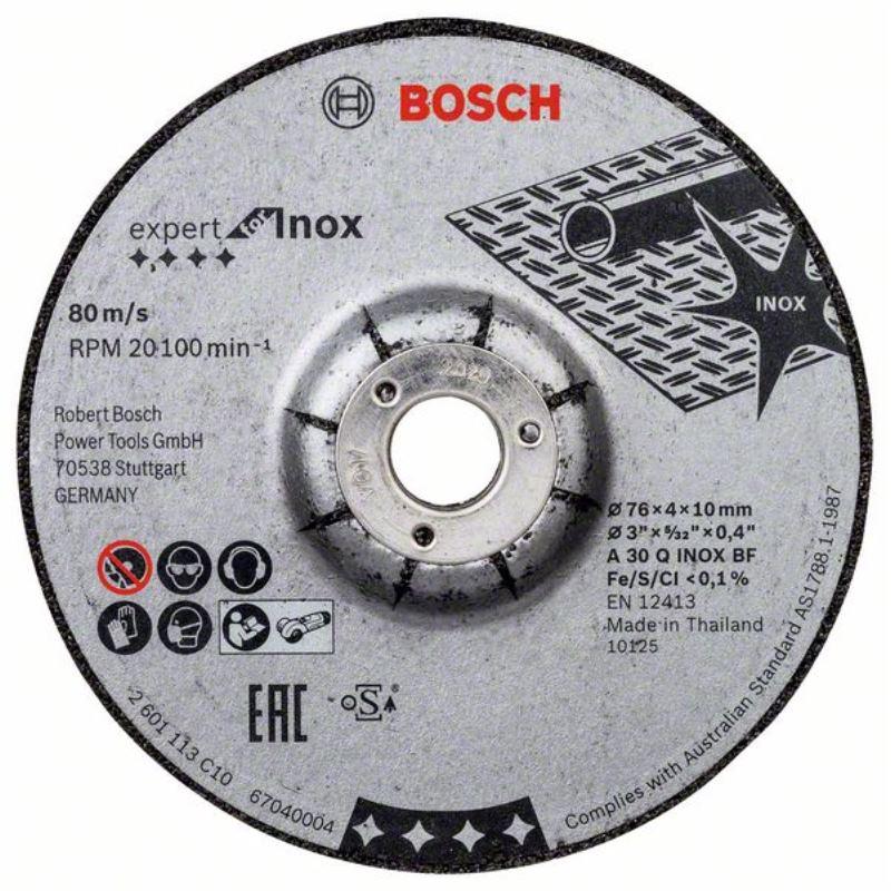 Ø 76mm Schruppscheibe Expert for Inox A 30 Q INOX BF 2 Stück