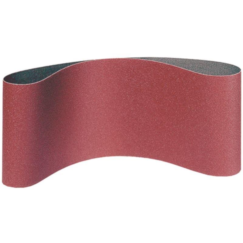 10x Klingspor Schleifband Schleifbänder 75x457 mm Korn Körnung Mix Gewebe
