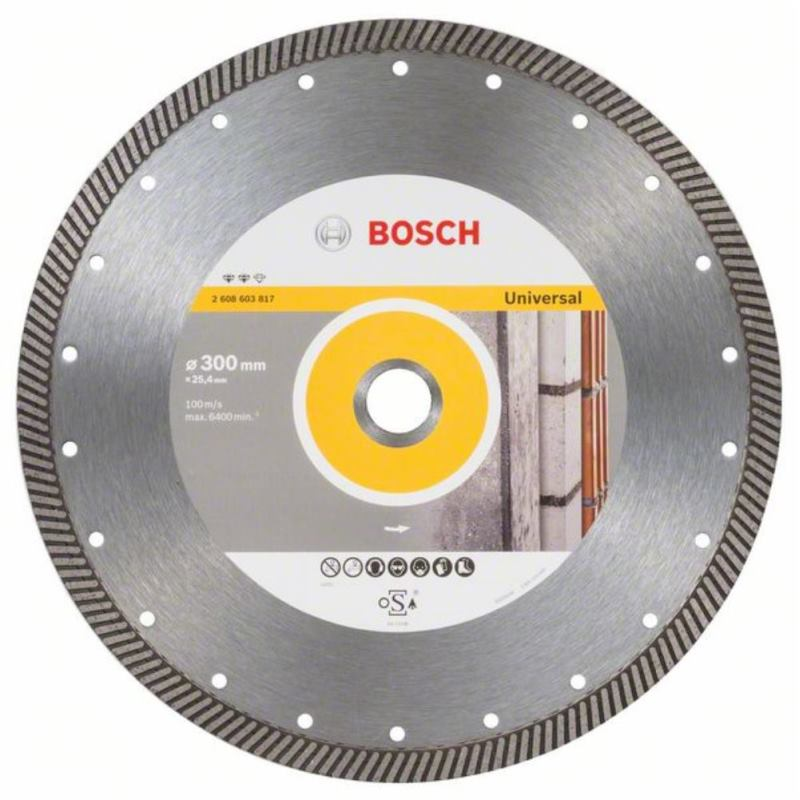 Diamanttrennscheibe Expert for Universal Turbo, 300 x 25,40 x 2,2 x 12 mm