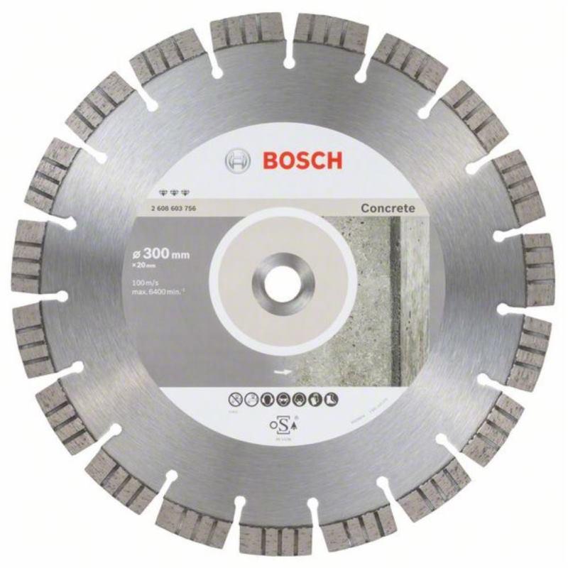 Diamanttrennscheibe Best for Concrete, 300 x 20,00x 2,8 x 15 mm