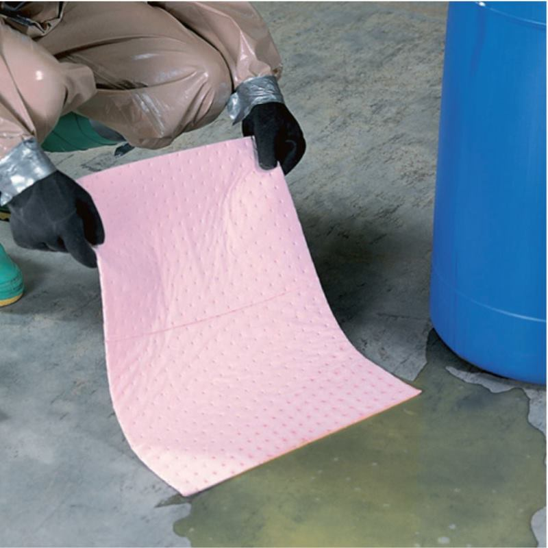 Saugmatte HAZ-MAT351 Einzelmatten 25cmx33cm. rosa