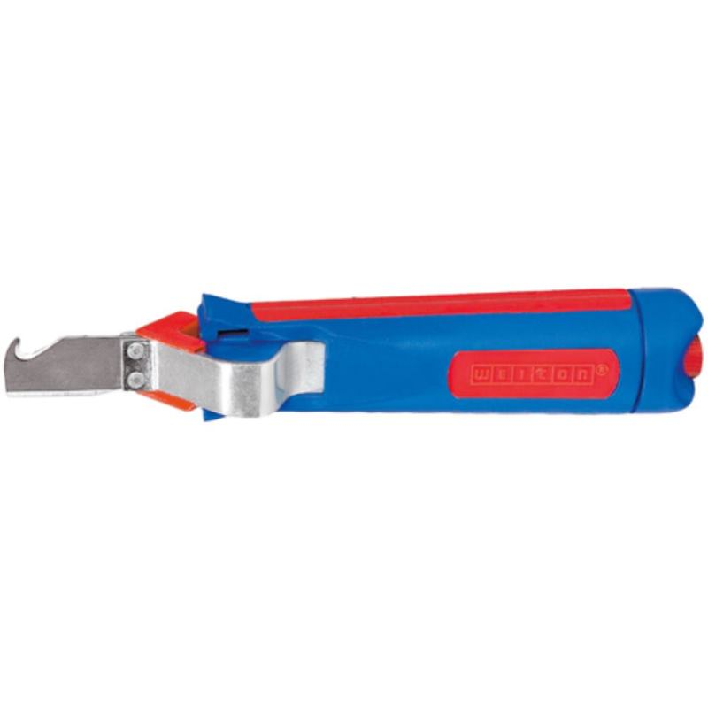 Kabelmesser für Kabeldurchmesser 4 - 28 mm mit Ha