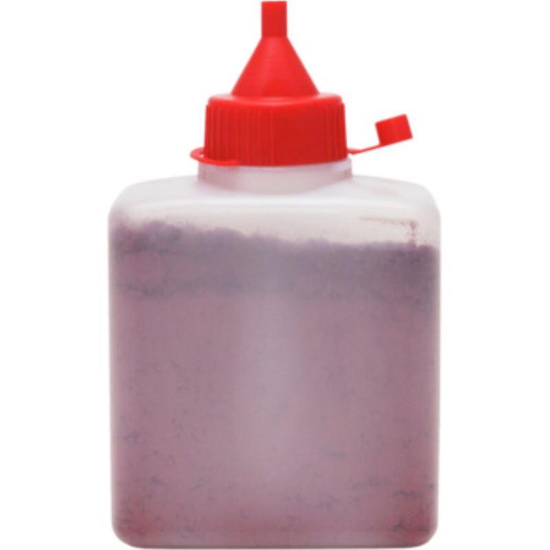 Farbpulver rot, 250 g für Schlagschnurroller