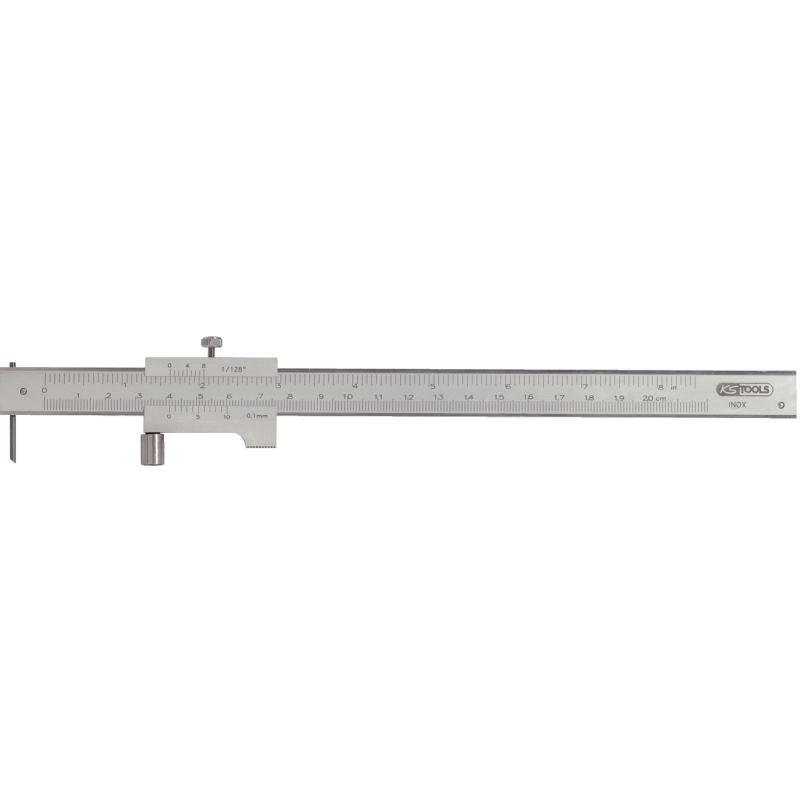 Universalstreichmaß mit Anschlagrolle. 200mm 300.0