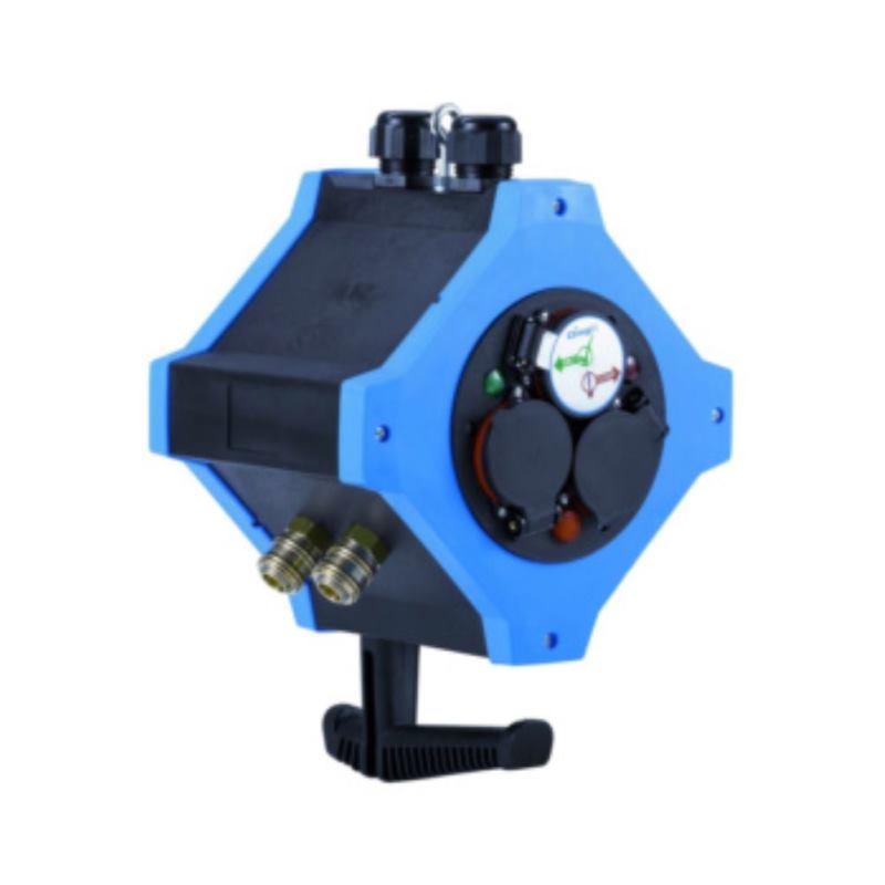 Energie-Hängeverteiler e.SATION Kombi-Ausführung Energie/Druckluft