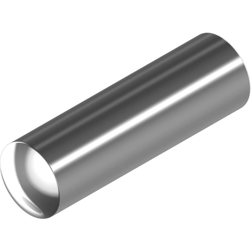Zylinderstifte DIN 7 - Edelstahl A4 Ausführung m6 2x 12