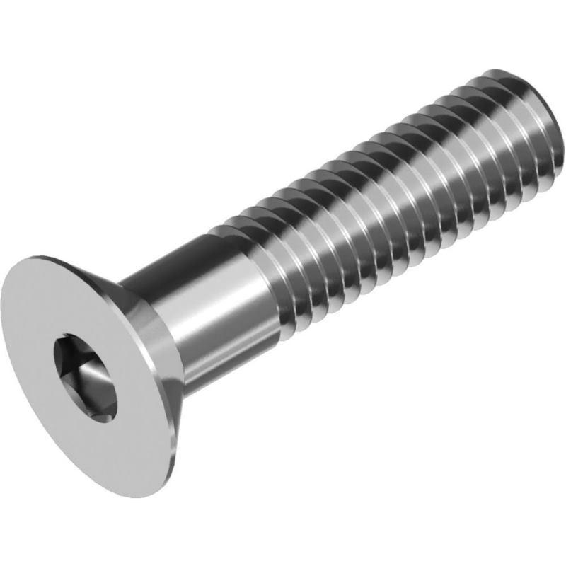 Senkkopfschrauben m. Innensechskant DIN 7991- A2 M 4x 10