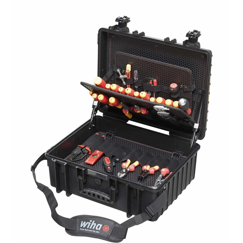 Werkzeug Set Elektriker Competence XL 80-tlg.