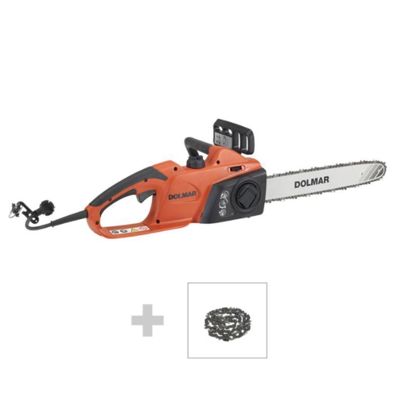 40cm Elektro-Kettensäge | 1800 Watt | + 2. Kette| ES43TLCX-40
