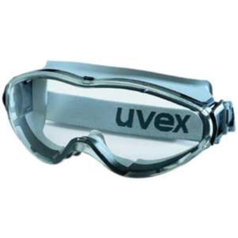 9302 Vollsichtbrille ultrasonic grausw