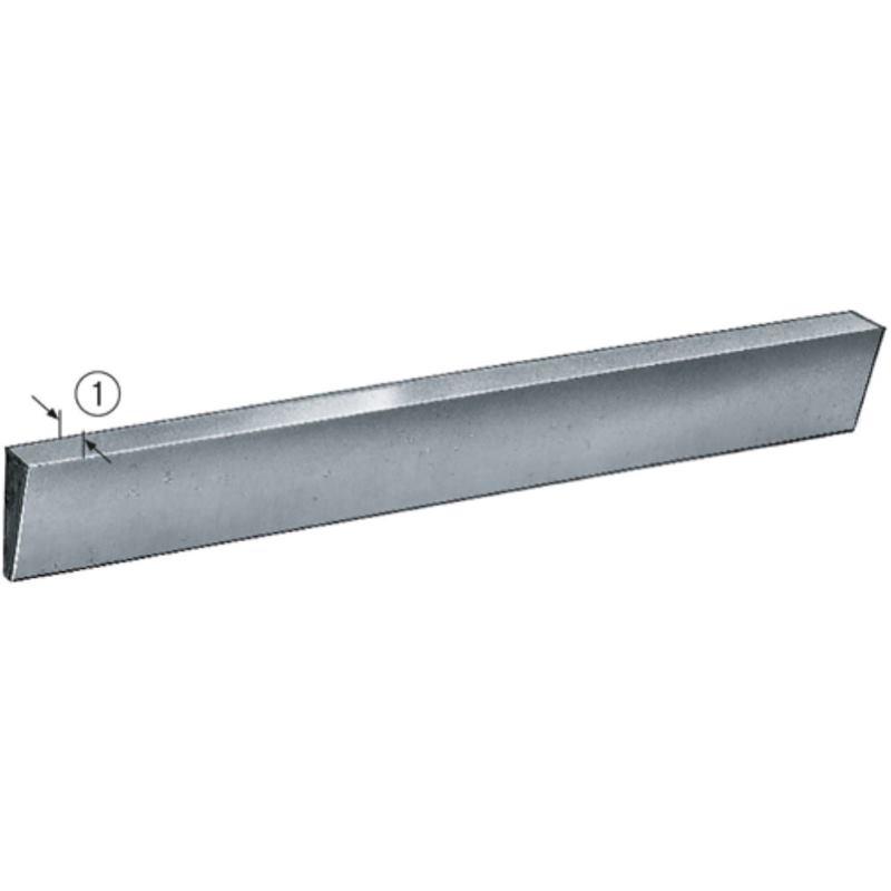 Drehlinge trapezform Drehstahl Dreheisen HSSE 10x2,5x80 mm