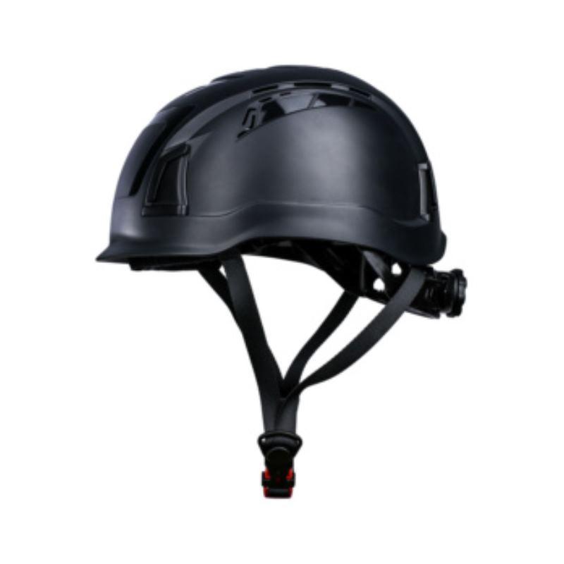 ProCap Höhen-Arbeitsschutzhelm mit Kinnriemen 52-61 cm. Farbe schwarz
