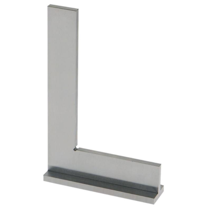 Anschlagwinkel gehärtet 50x40 mm DIN 875 GG 0 Inox