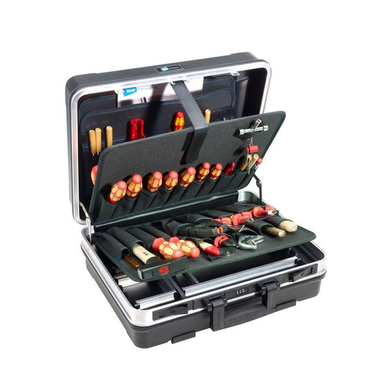 29 Liter ABS Werkzeugkoffer base schwarz 120.02/P