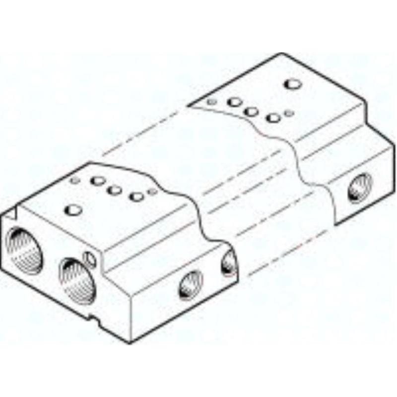 VABM-C7-12M-G18-3 549640 Anschlussleiste