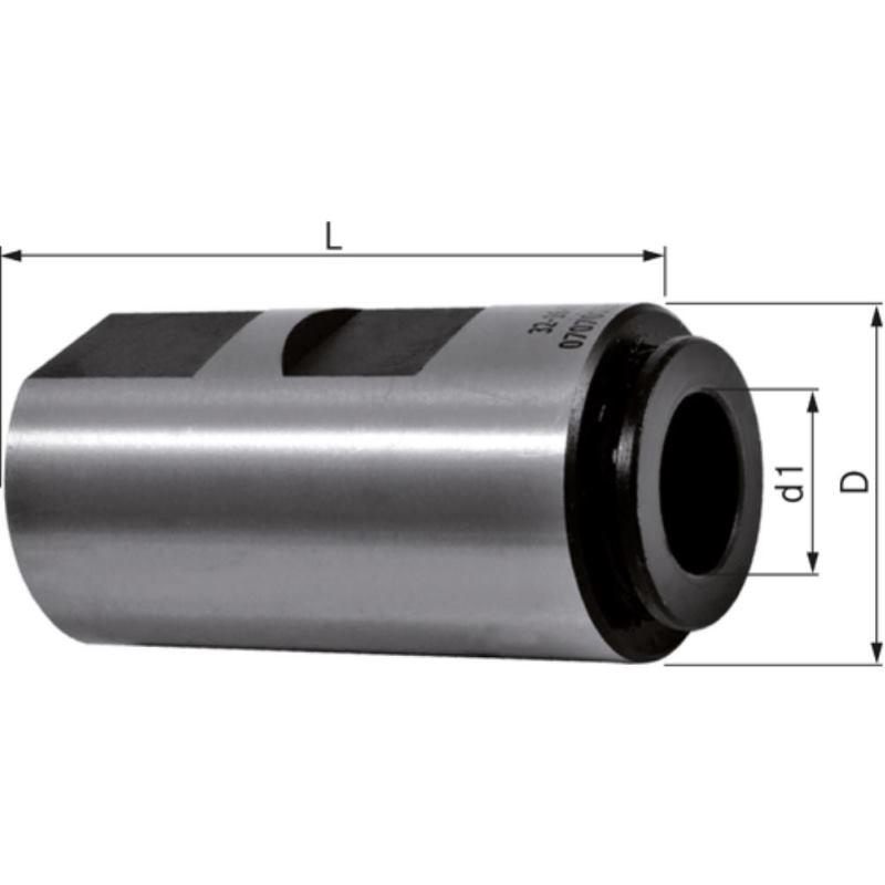 Gewindebohrerhalter 20 x 7,0 mm Durchmesser 5,5 m