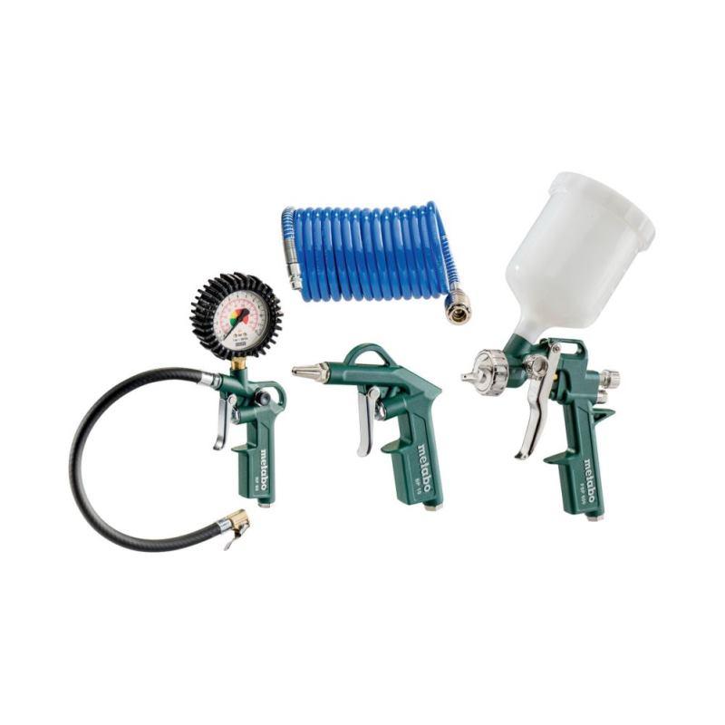 Druckluftwerkzeug Set LPZ 4 Farbspitzpistole usw.
