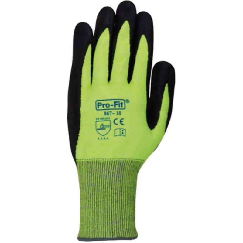 Nitril-Schnittschutzhandschuh Größe 8. Level 4.5.4.4