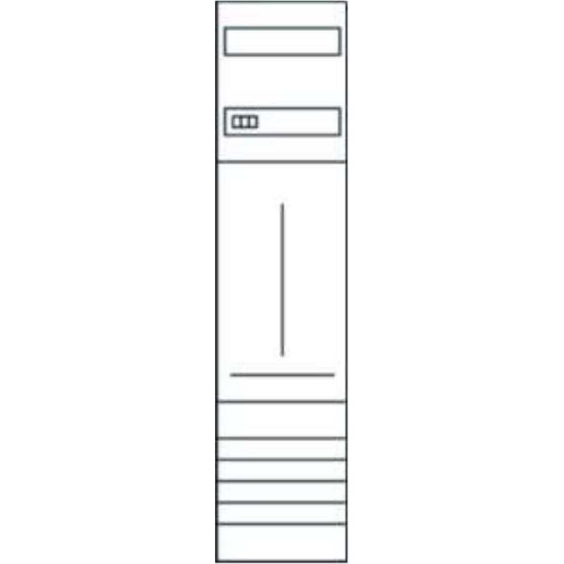 ZH33X7 Komplettfeld 1ZP.H1050mm.1feld