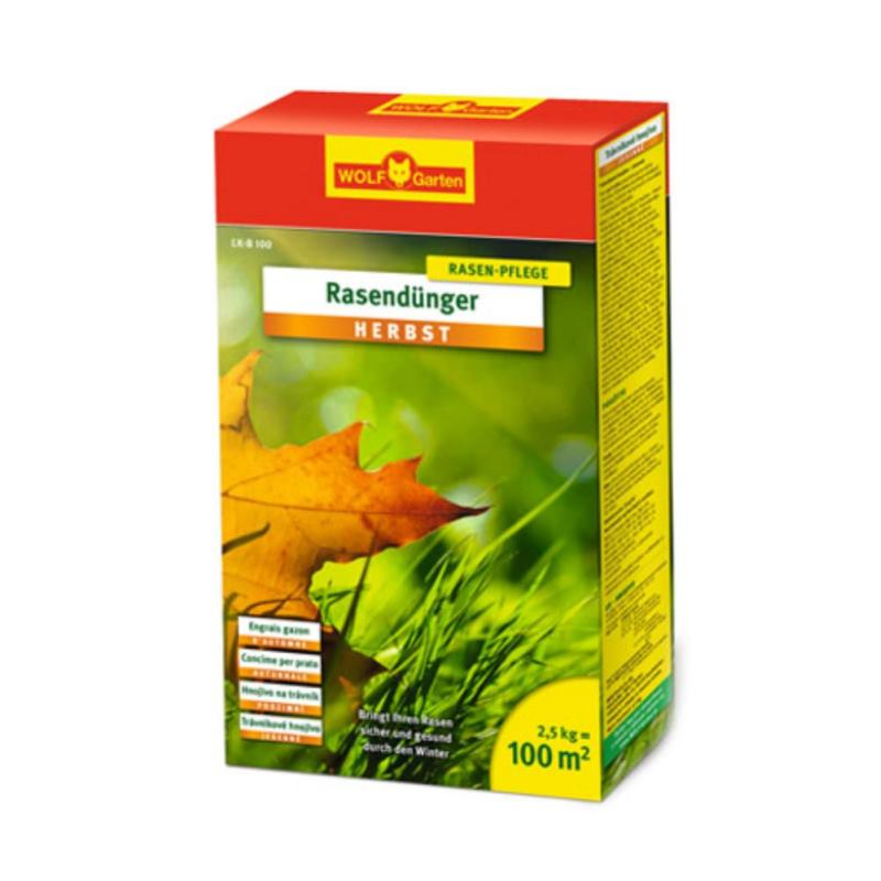 Rasendünger Herbst LK-B 100 | 2.5 kg | für 100 m²