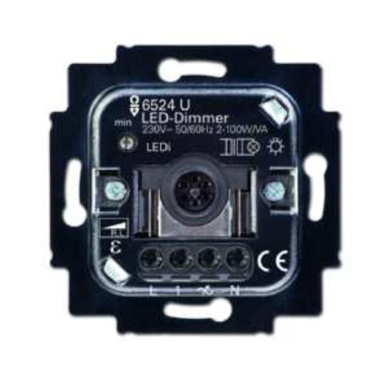 6526 U LED-Dimmer 2D AN 100 VA