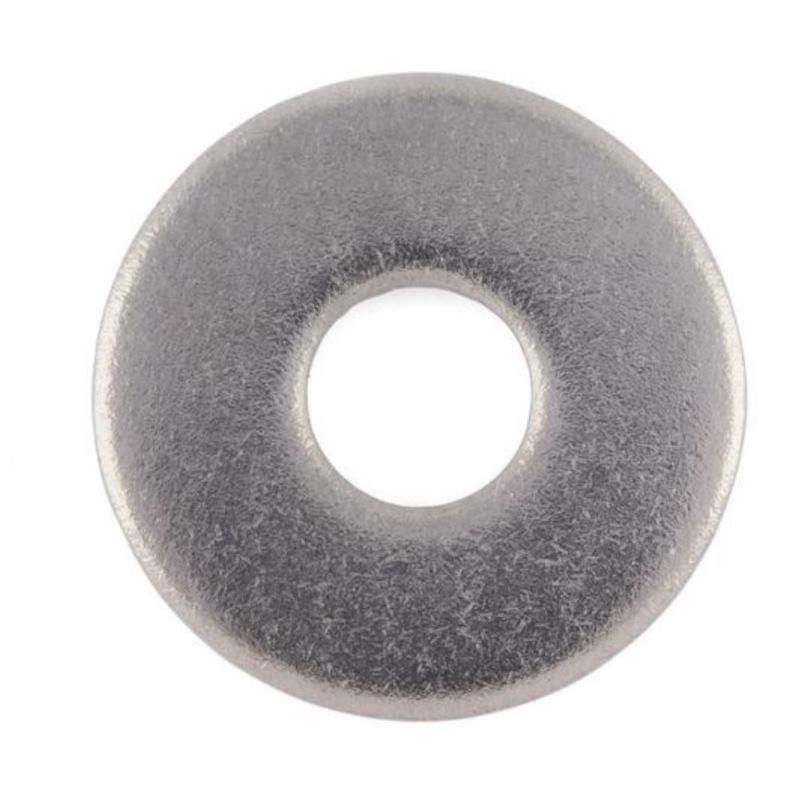 Scheibe Form R DIN 440 Edelstahl A2 blank D17,5100 Stück