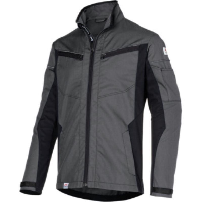 Kübler INNOVATIQ Jacke, anthrazit/schwarz, Größe XL