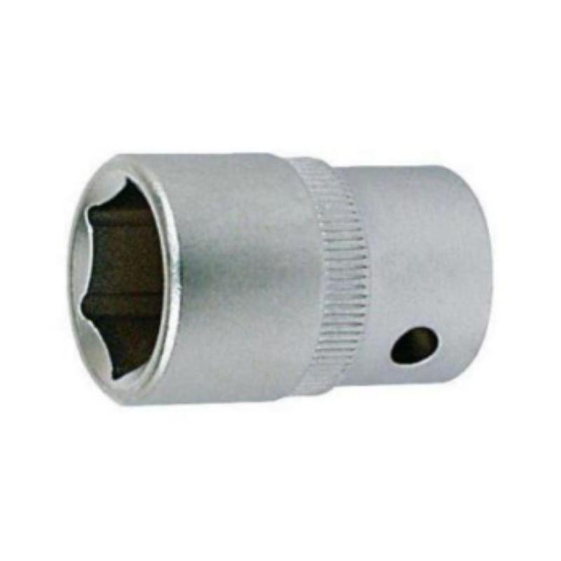Steckschlüsseleinsatz 17 mm 1/2' DIN 3124 Sechskant