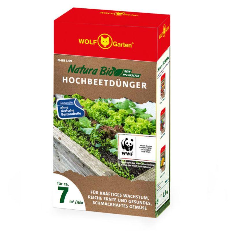 NATURA Hochbeetdünger N-HB 1.9 | für 7m2