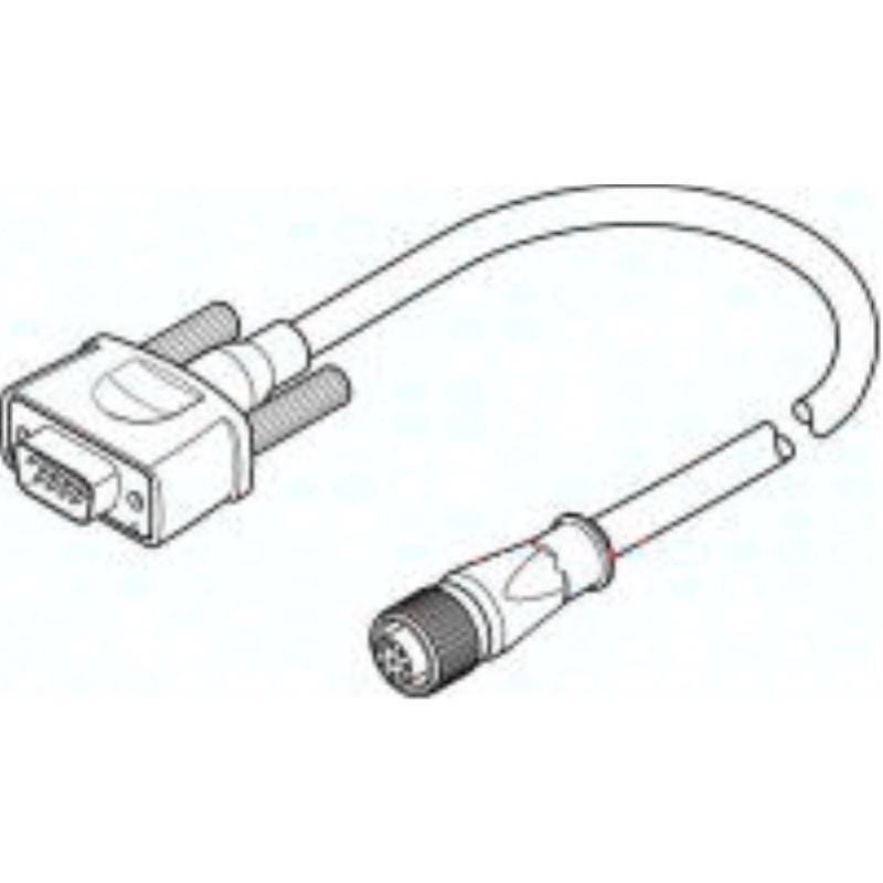 NEBM-M12G8-E-10-S1G9 550749 Encoderleitung