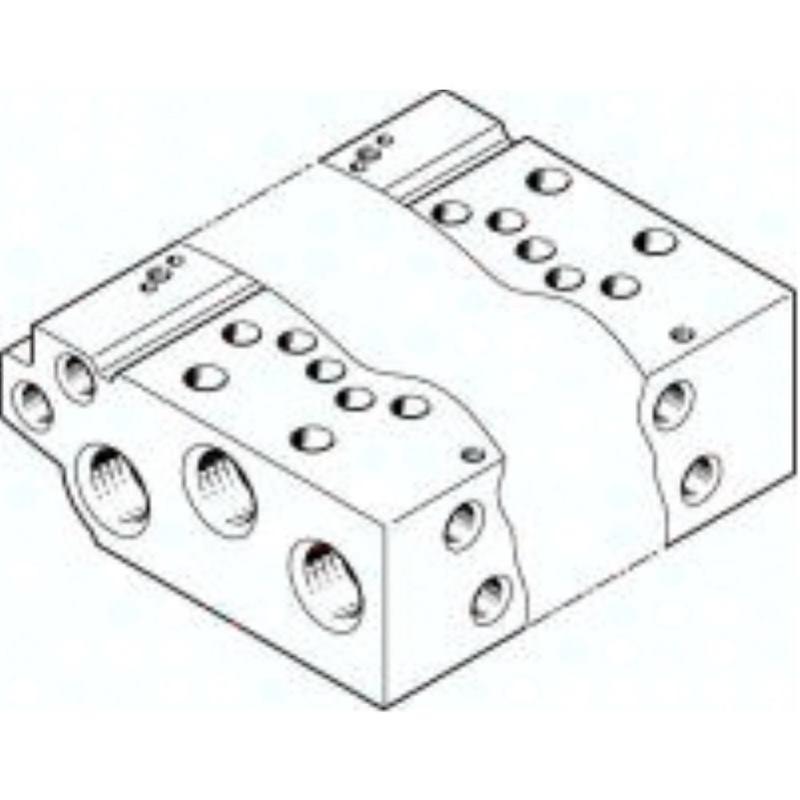 VABM-L1-10W-G18-14 566592 Anschlussleiste