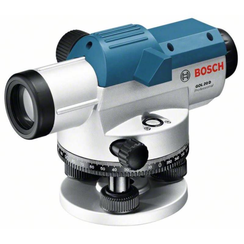 Optisches Nivelliergerät GOL 20 D. Baustativ BT 16