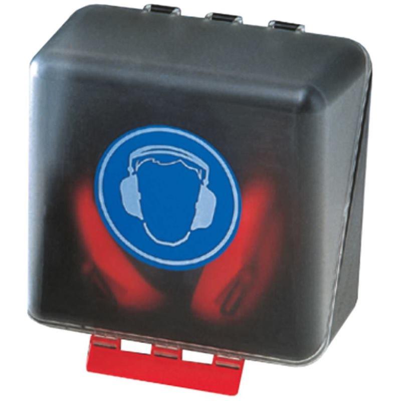 Sicherheits-Box für Gehörschutz 236x225x125 mm tra
