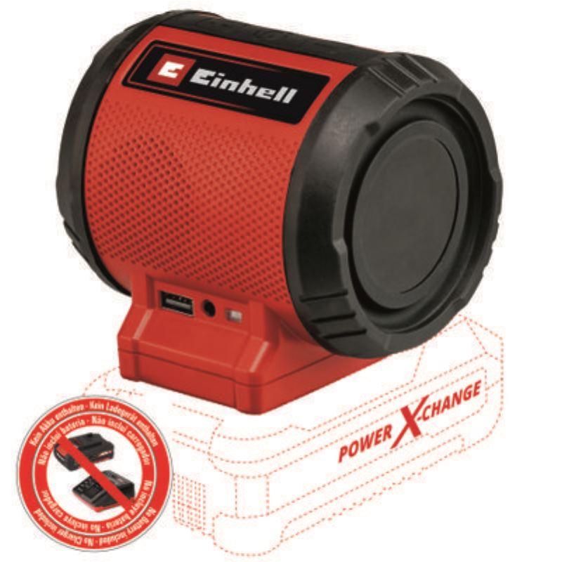 Bluetooth Akku-Lautsprecher TC-SR 18 Li BT   ohne Akku ohne Ladegerät