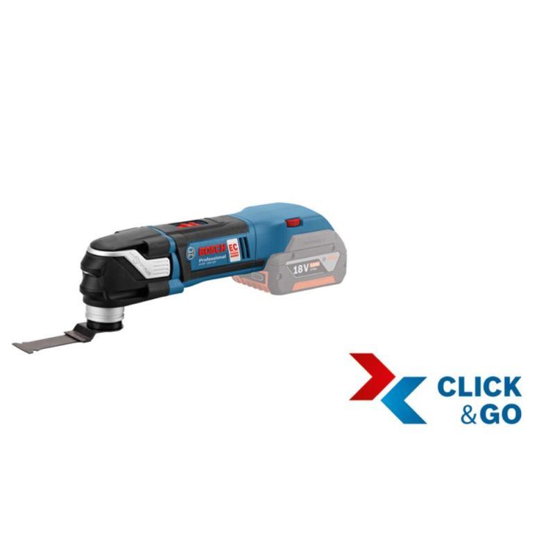Akku-Multi-Cutter GOP 18 V-28. mit L-BOXX & 1x Tauchsägeblatt PAIZ 32 APB