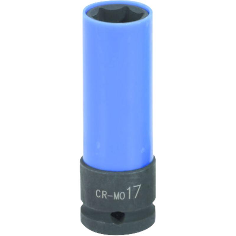 "1/2"" Alu-Felgen Kraft-Stecknuss. lang. 17mm 515.10"