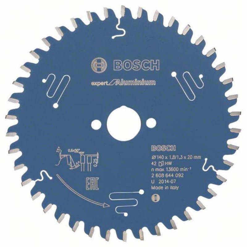 Kreissägeblatt Expert for Aluminium, 140 x 20 x 1,8 mm, 42
