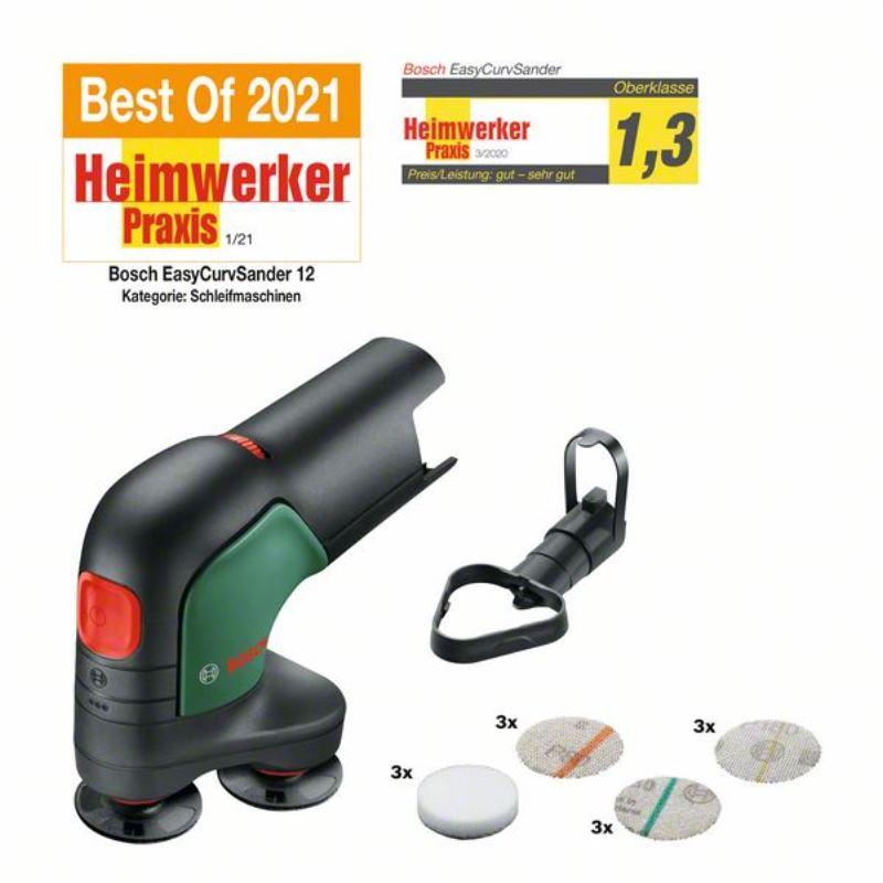 12V Akku-Tellerschleifer & Polierer EasyCurvSander 12 | ohne Akku ohne Ladegerät