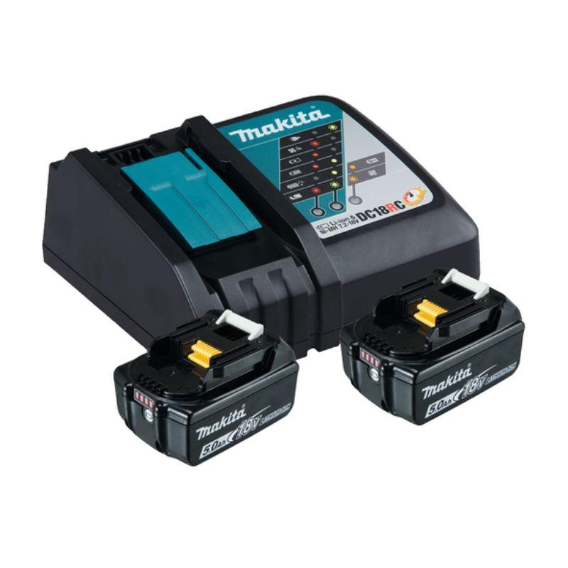 18V Akku + Ladegerät Power Source Kit | 2x Akku 5,0Ah