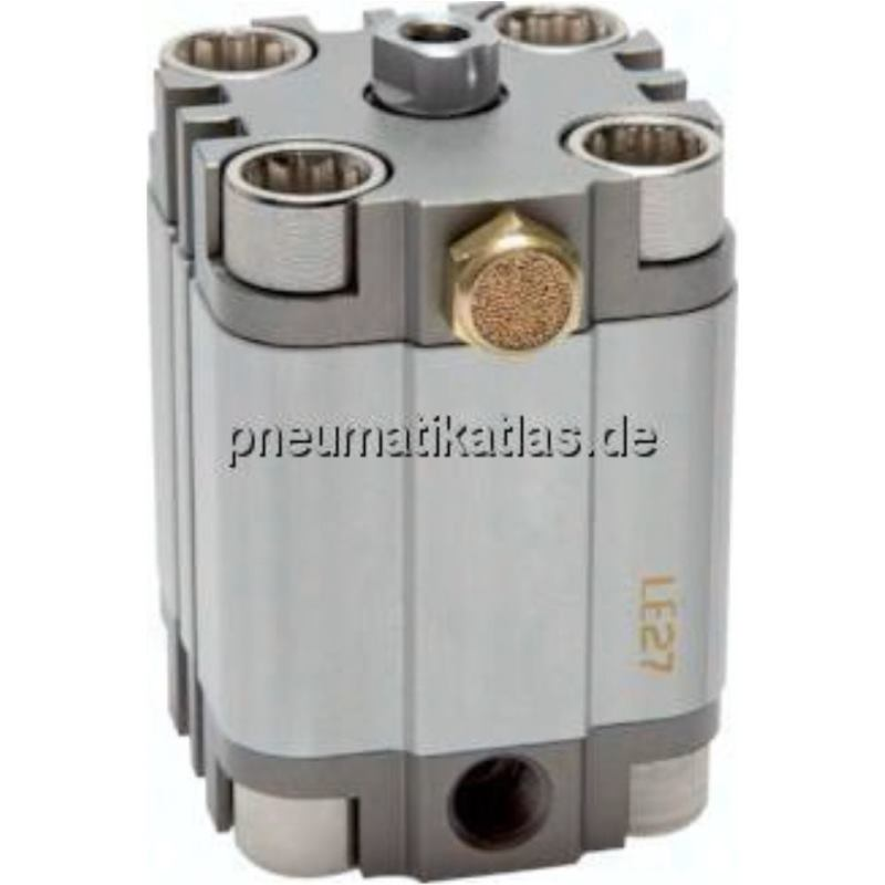 Kompaktzylinder, einfachwir- kend, Kolben Ø 25 mm,Hub 25mm