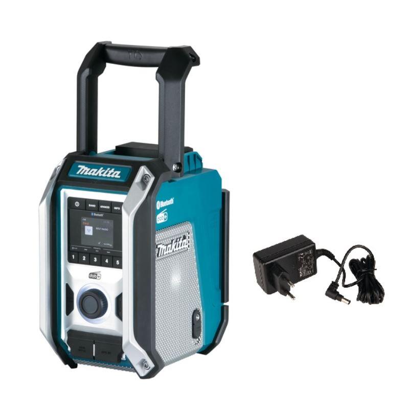Akku Baustellenradio DMR115   ohne Akku inkl. Bluetooth 5.0 & Netzteil
