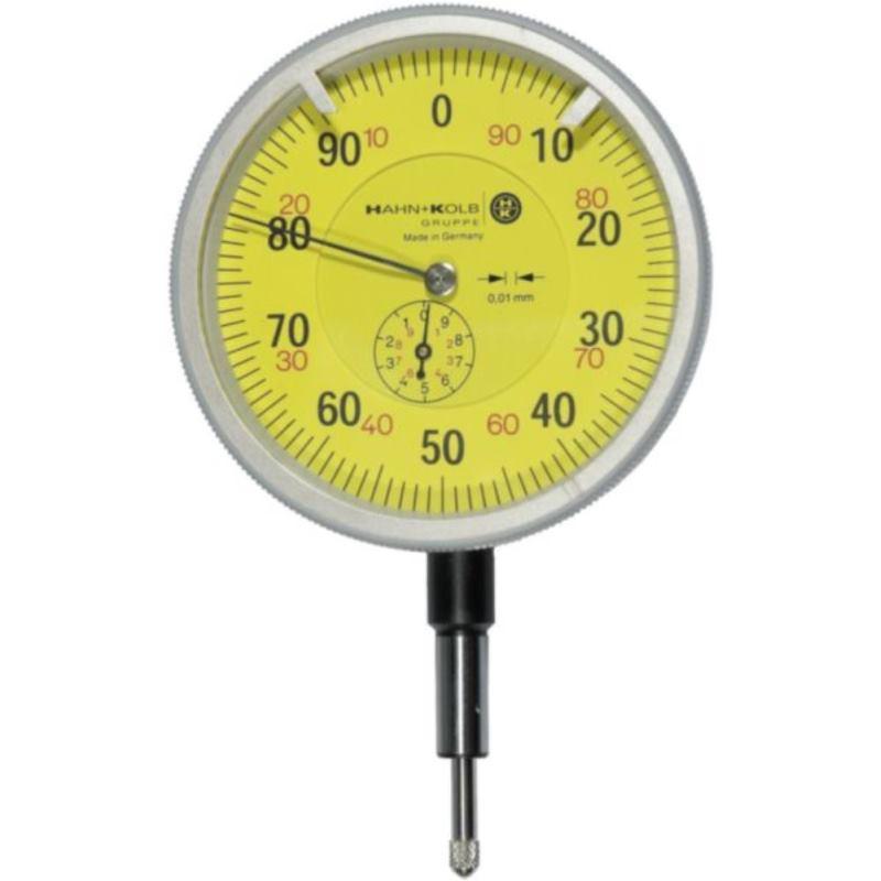 Messuhr 100 mm 0.01 mm Skalenteilungswert 10 mm Me